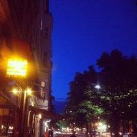 Photo taken at Café Schwarzsauer by Marc D. on 6/5/2012