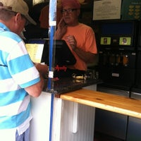 Photo taken at Hotdog Tommy's by Christopher D. on 7/31/2012