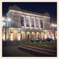 Photo taken at Teatro Municipal de Santiago by Jose J. on 8/10/2012