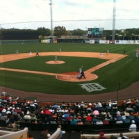 Photo taken at Publix Field at Joker Marchant Stadium by Marc Z. on 3/2/2012