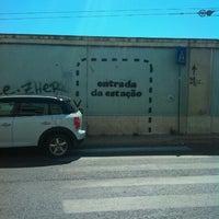 Photo taken at Entrada Norte - CP Santa Apolónia by Luis C. on 9/4/2012