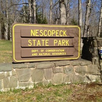 Photo taken at Nescopeck State Park by Brent F. on 4/7/2012