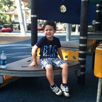 Photo taken at Lake Eola Playground by Tim V. on 7/29/2012