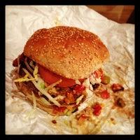 Photo taken at Black Iron Burger by @HungryEditor B. on 4/22/2012
