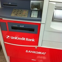 Photo taken at UniCredit Bank by Vladislav L. on 4/22/2012