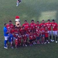 Photo taken at Nou Estadi by Fernando A. on 8/26/2012