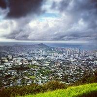 Photo taken at Puʻu Ualakaʻa State Park by @RickNakama on 9/7/2012