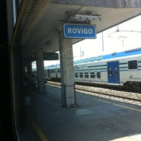 Photo taken at Stazione Rovigo by Naike F. on 5/28/2012