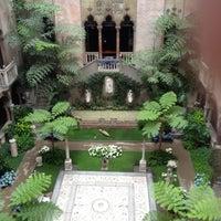 Photo taken at Isabella Stewart Gardner Museum by Alex B. on 6/2/2012