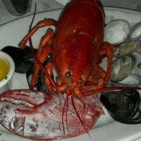 Photo taken at Lefty's Lobster and Chowder House by Georgia C. on 8/24/2012