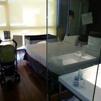 Photo taken at Eurostars Anglí Hotel Barcelona by José Luis D. on 8/8/2012