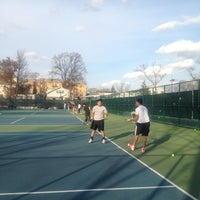 Photo taken at 41st Street Tennis Courts by Gunther P. on 3/8/2012