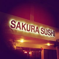 Photo taken at Sakura Sushi Japanese Restaurant by Jahanzaib M. on 9/3/2012