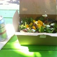 Photo taken at Fozzie's Sandwich Emporium by Kay M. on 4/26/2012