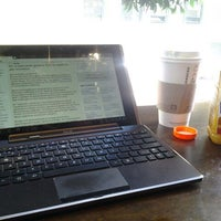 Photo taken at Starbucks by Sergey Z. on 4/22/2012
