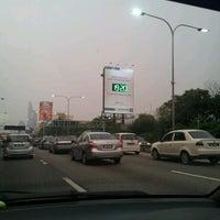Photo taken at Lebuhraya persekutuan by Lidiah L. on 8/14/2012