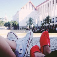 Photo taken at Praça Verde by Tangerina N. on 9/1/2012