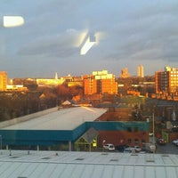 Photo taken at Liberty Park Halls of Residence, DMU by Becky M. on 3/7/2012