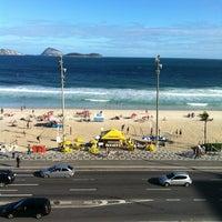 Photo taken at Sol Ipanema Hotel by Márcio C. on 5/2/2012