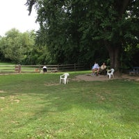 Photo taken at Stamford Dog Park by Ousted N. on 8/21/2012