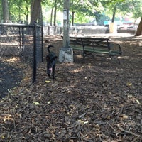 Photo taken at Marcus Garvey Park - Dog Run by Lily on 7/24/2012