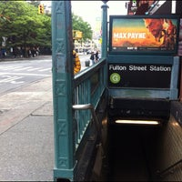 Photo taken at MTA Subway - Fulton St (G) by Suitkace R. on 5/9/2012