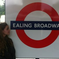 Photo taken at Ealing Broadway Railway Station (EAL) by Petra F. on 7/11/2012