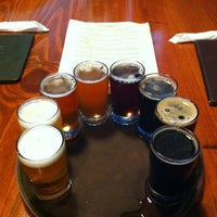 Photo taken at Twain's Brewpub & Billiards by Andy C. on 3/13/2012