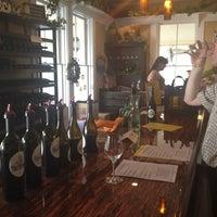 Photo taken at Twisted Oak Winery Murphys Tasting Room by Mia A. on 4/21/2012