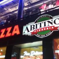 Photo taken at Abitino's Pizzeria by Luis Alberto G. on 7/29/2012