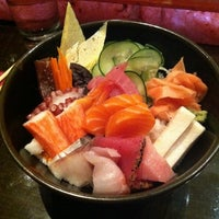 Photo taken at Bar Chi Sushi by Ashley K. on 3/13/2012