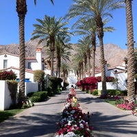 Photo taken at La Quinta Resort & Club, A Waldorf Astoria Resort by Ted C. on 4/1/2012
