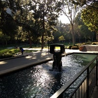 Photo taken at UCLA Franklin D. Murphy Sculpture Garden by Nick P. on 2/22/2012