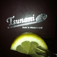 Photo taken at Tsunami Sushi & Hibachi Grill by Sheri P. on 6/8/2012