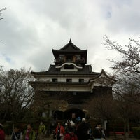 Photo taken at Inuyama Castle by hoppie2003jp on 4/1/2012