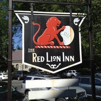 Photo taken at Red Lion Inn by Jonathan K. on 9/1/2012