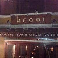 Photo taken at Braai by Sinead N. on 2/24/2012