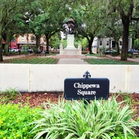Photo taken at Chippewa Square by Armando V. on 8/24/2012