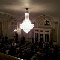 Photo taken at Teatro Municipal de Santiago by Patricio F. on 4/11/2012