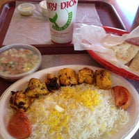 Photo taken at Moby Dick House of Kabob by Derek D. on 5/20/2012