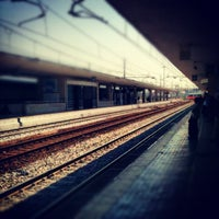 Photo taken at Padova railway station (QPA) by Paolo U. on 5/30/2012