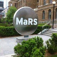 Photo taken at MaRS Discovery District by Andy H. on 6/4/2012