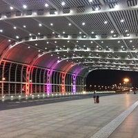 Photo taken at 苏州园区火车站 | Suzhou Industrial Park Railway Stn. by davidt911 D. on 8/28/2012
