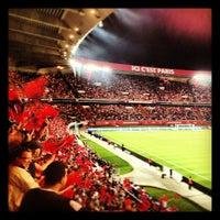 Photo taken at Parc des Princes by Thiago B. on 8/11/2012
