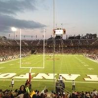 Photo taken at Stanford Stadium by Susan on 9/1/2012