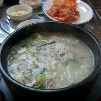 Photo taken at 소부리 순대국 by Sangbum H. on 3/17/2012