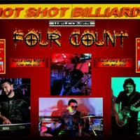 Photo taken at Hot Shot's Billiard's by Danny C. on 6/17/2012