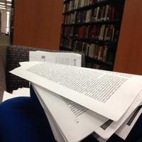 Photo taken at Langson Library (LLIB) by Kristen S. on 6/11/2012