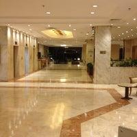 Photo taken at Mersin HiltonSA Hotel by Bulent A. on 8/18/2012