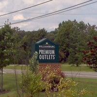 Photo taken at Williamsburg Premium Outlets by Dj Mista C. on 8/10/2012